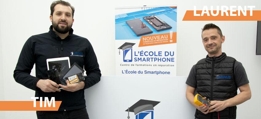L'École du Smartphone : formateurs qualifiés & agréés