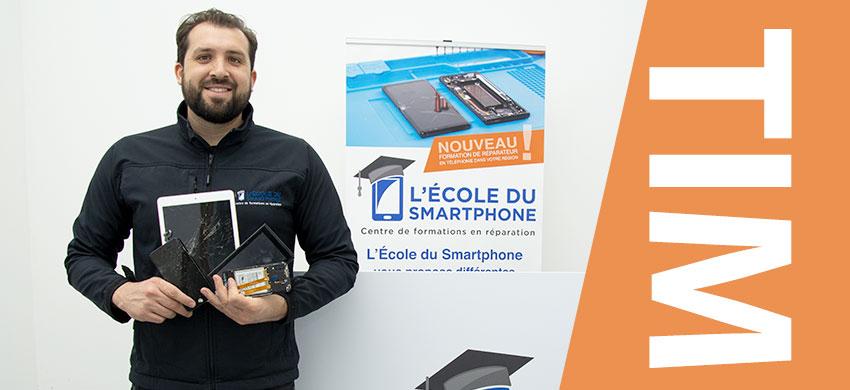 École du Smartphone : Tim Boaglio, co-fondateur